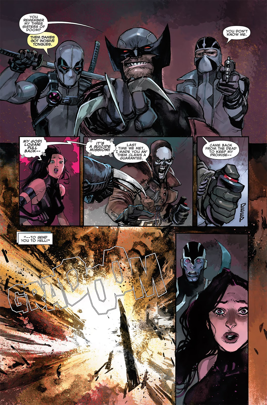 Uncanny X-Force (2010) Issue #5.1 #6 - English 10