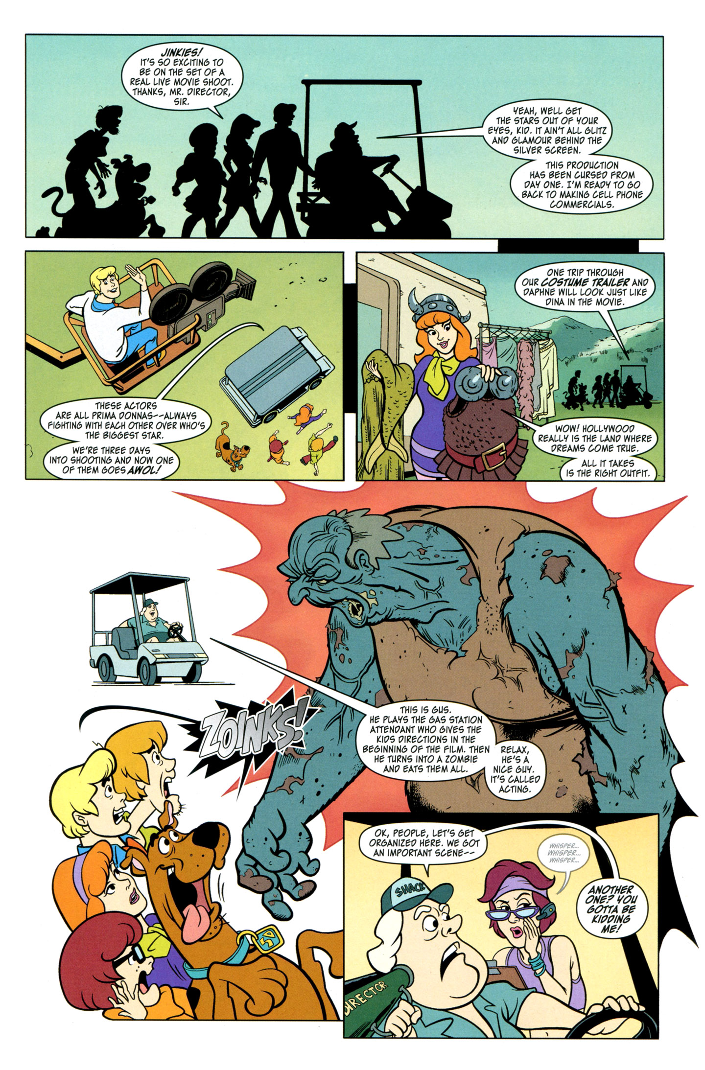 Read online Scooby-Doo: Where Are You? comic -  Issue #29 - 6