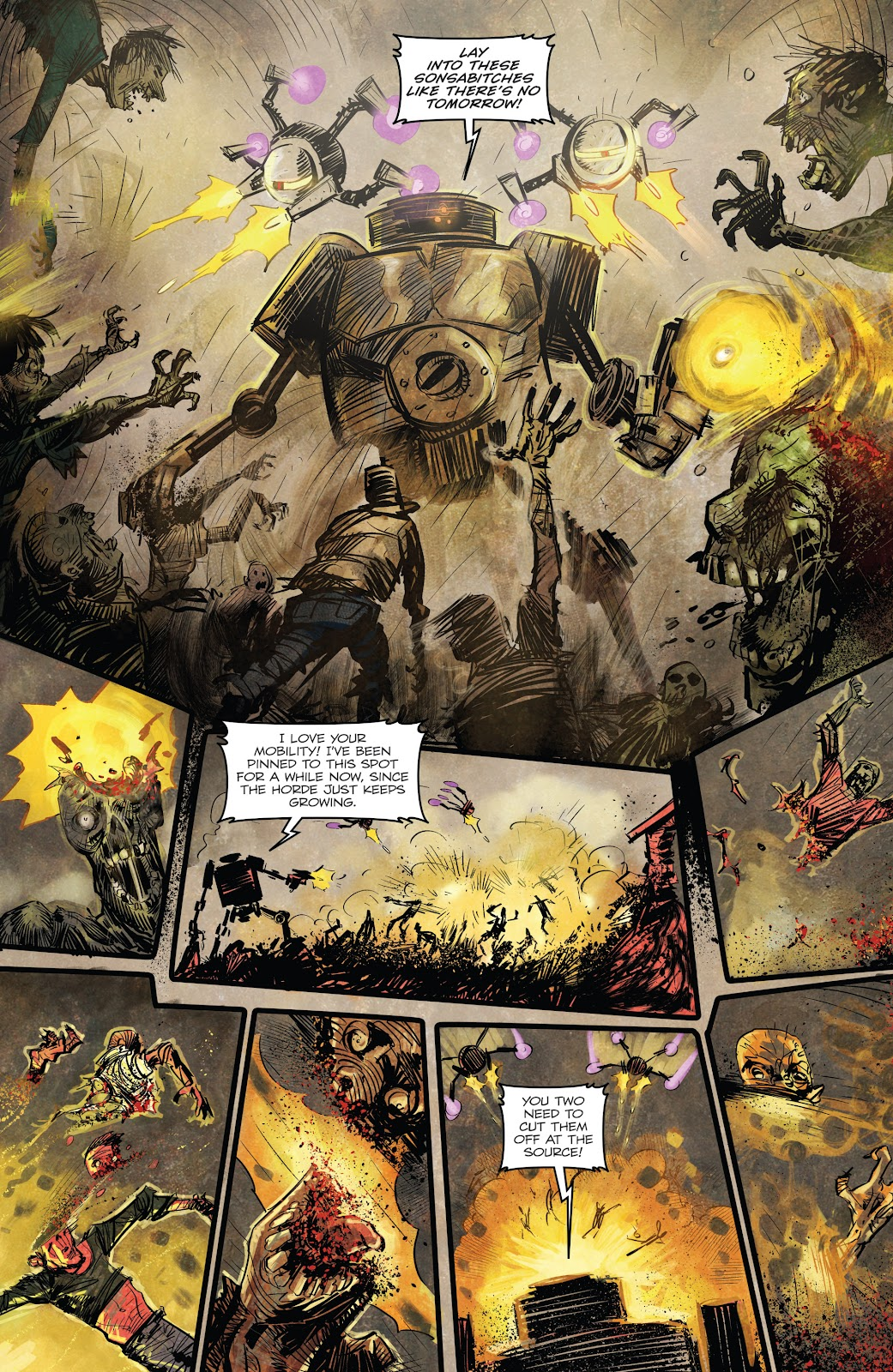 Zombies vs Robots (2015) Issue #2 Page 11