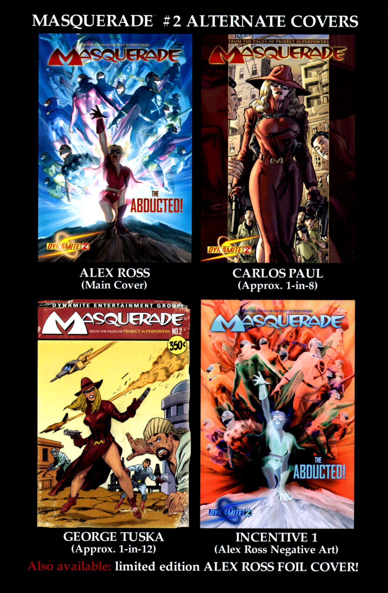 Read online Masquerade comic -  Issue #2 - 38