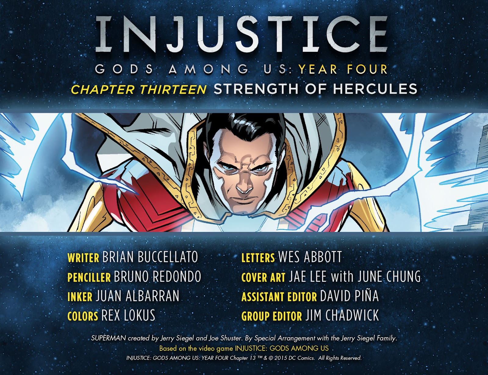 Injustice: Gods Among Us Year Four Issue #13 #14 - English 3
