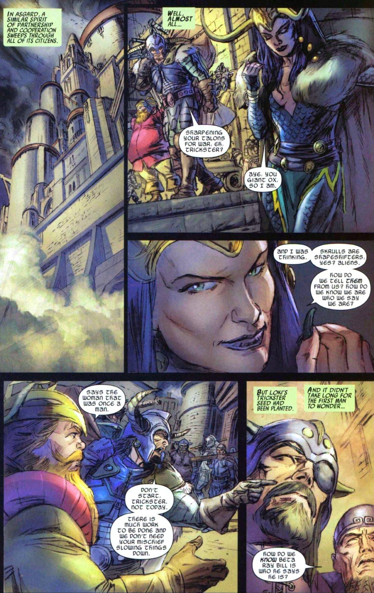 Read online Secret Invasion: Thor comic -  Issue #1 - 14