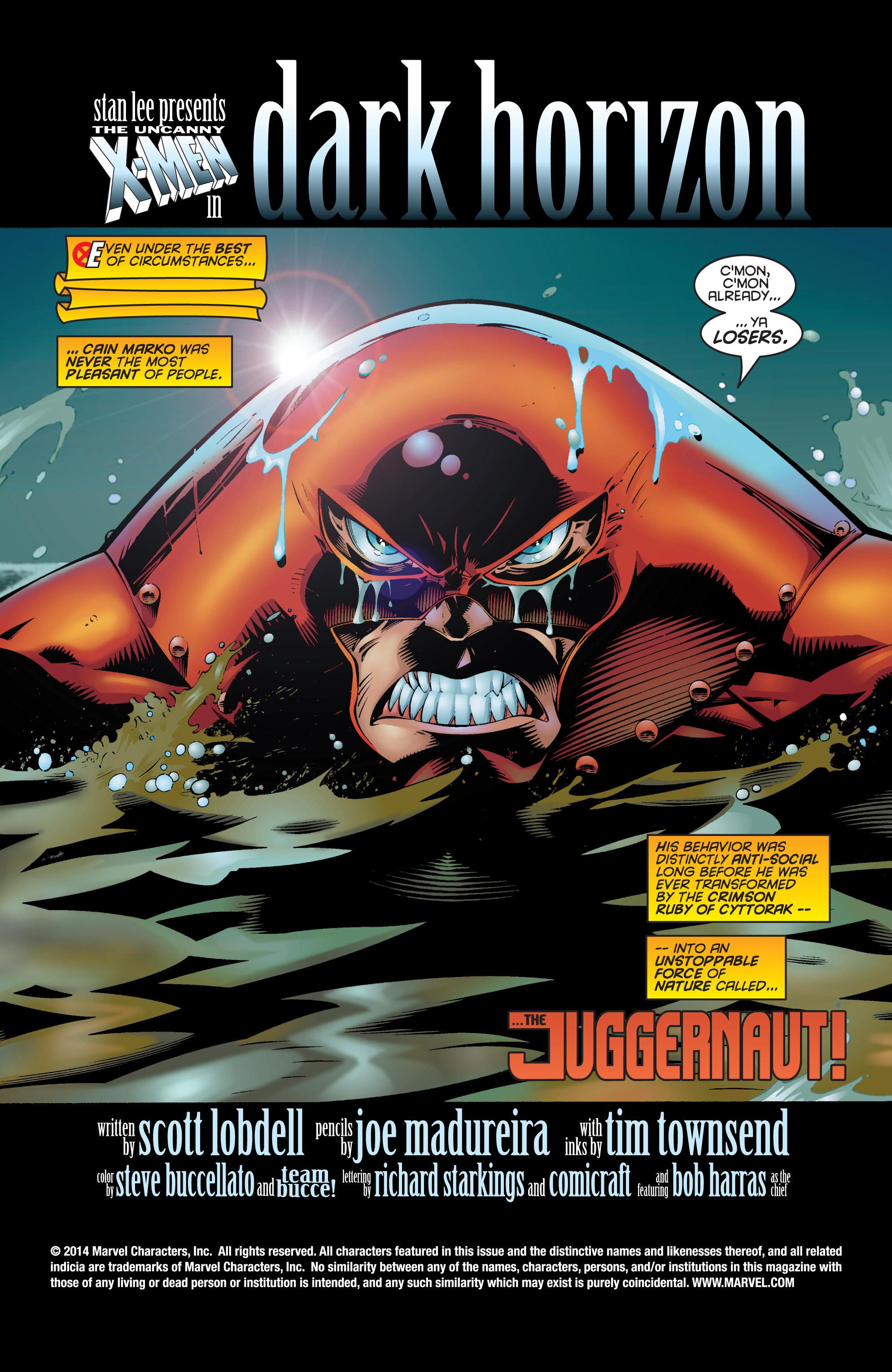Uncanny X-Men (1963) 334 Page 2
