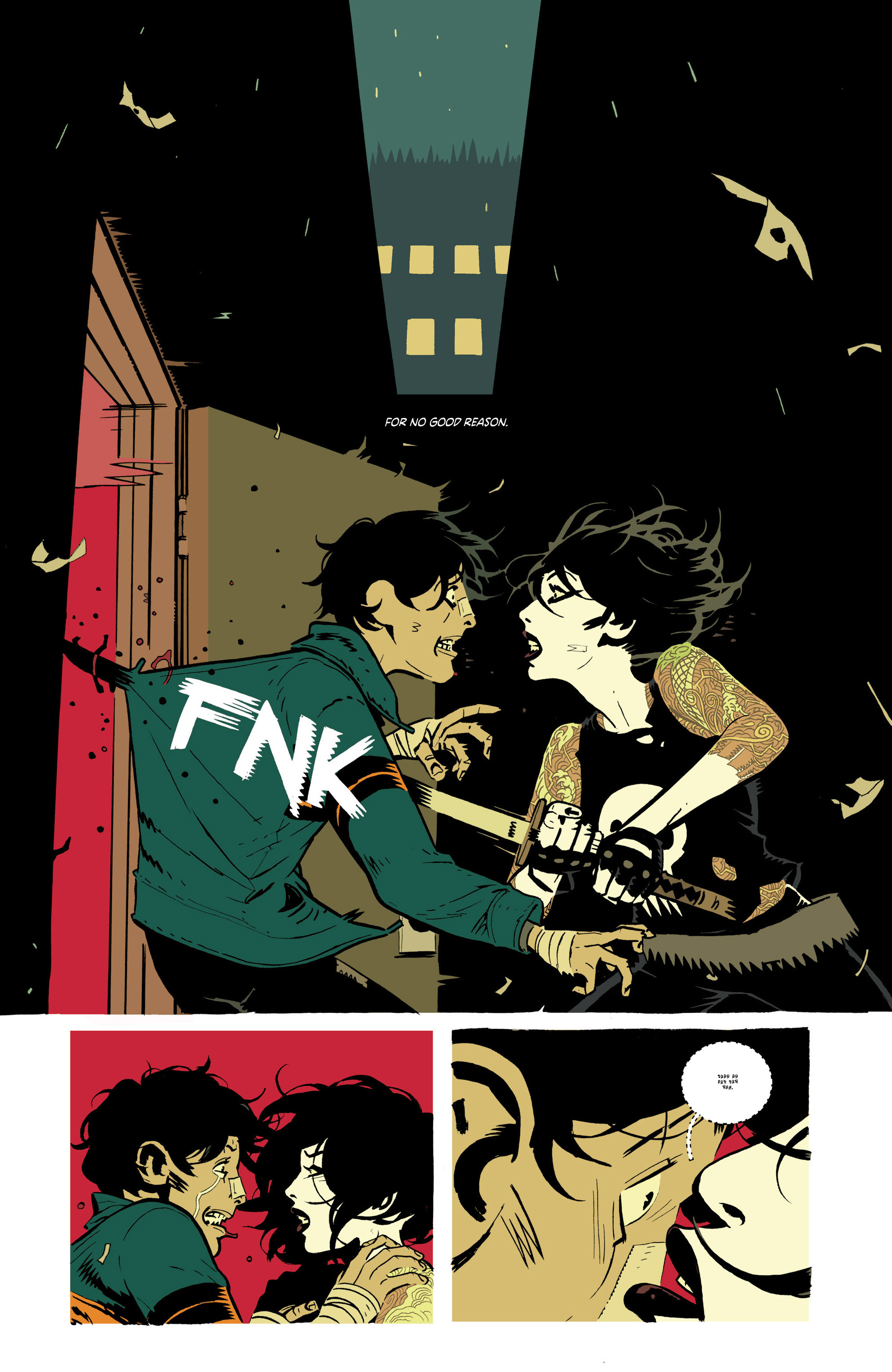 Read online Deadly Class comic -  Issue #21 - 28