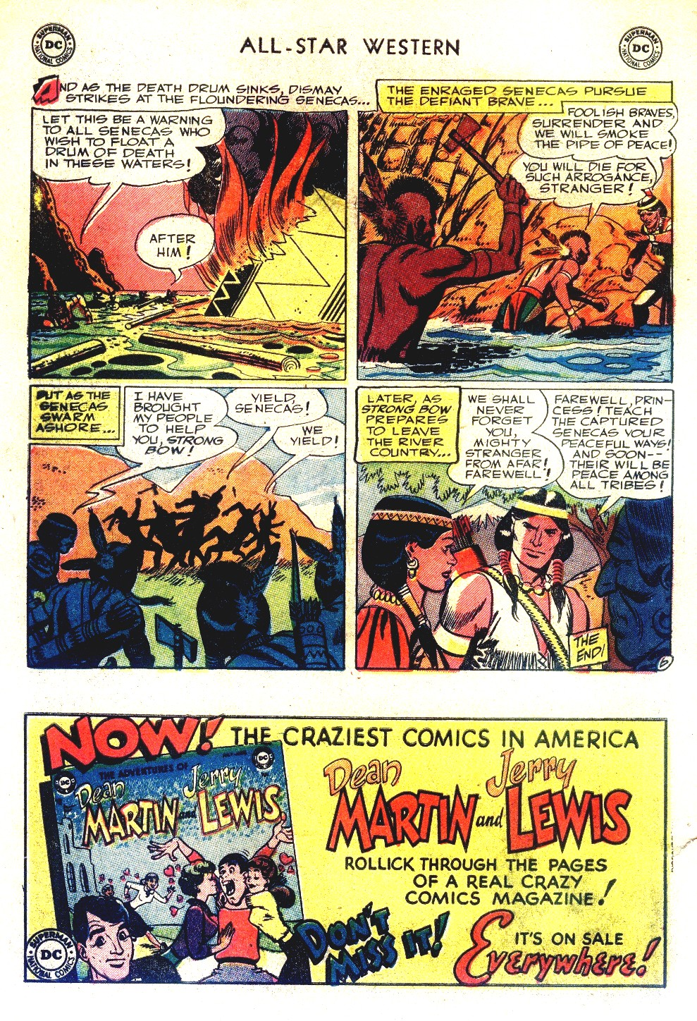 Read online All-Star Western (1951) comic -  Issue #66 - 34