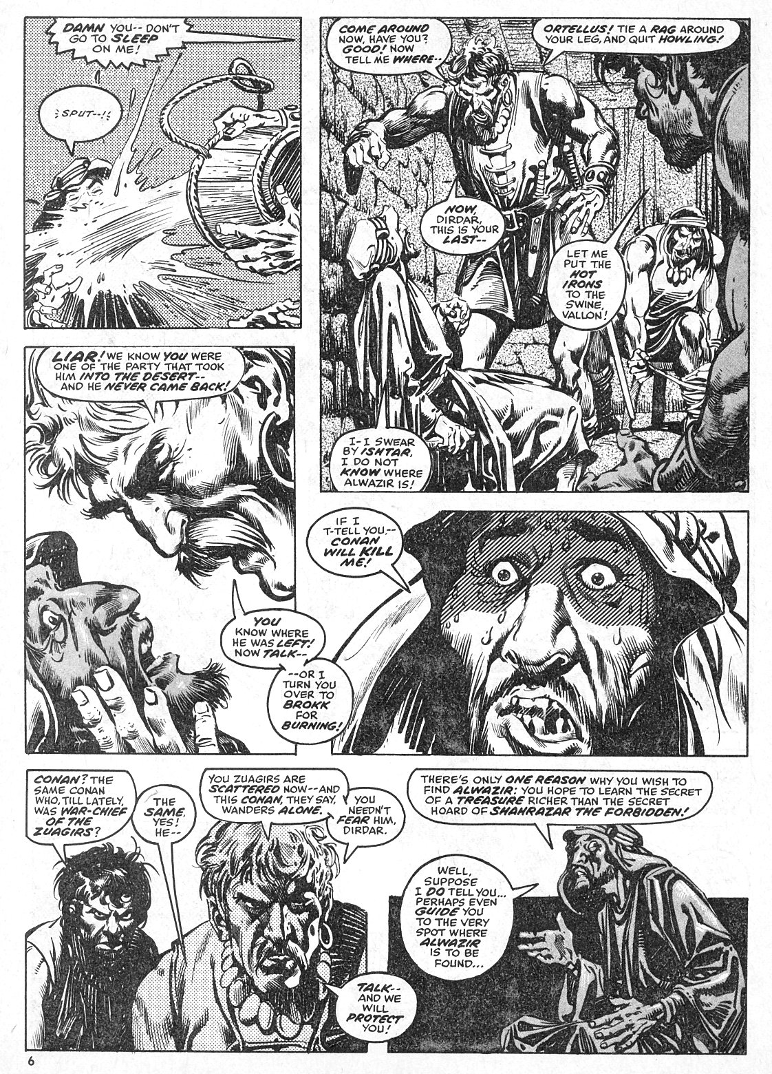 The Savage Sword Of Conan Issue #28 #29 - English 6