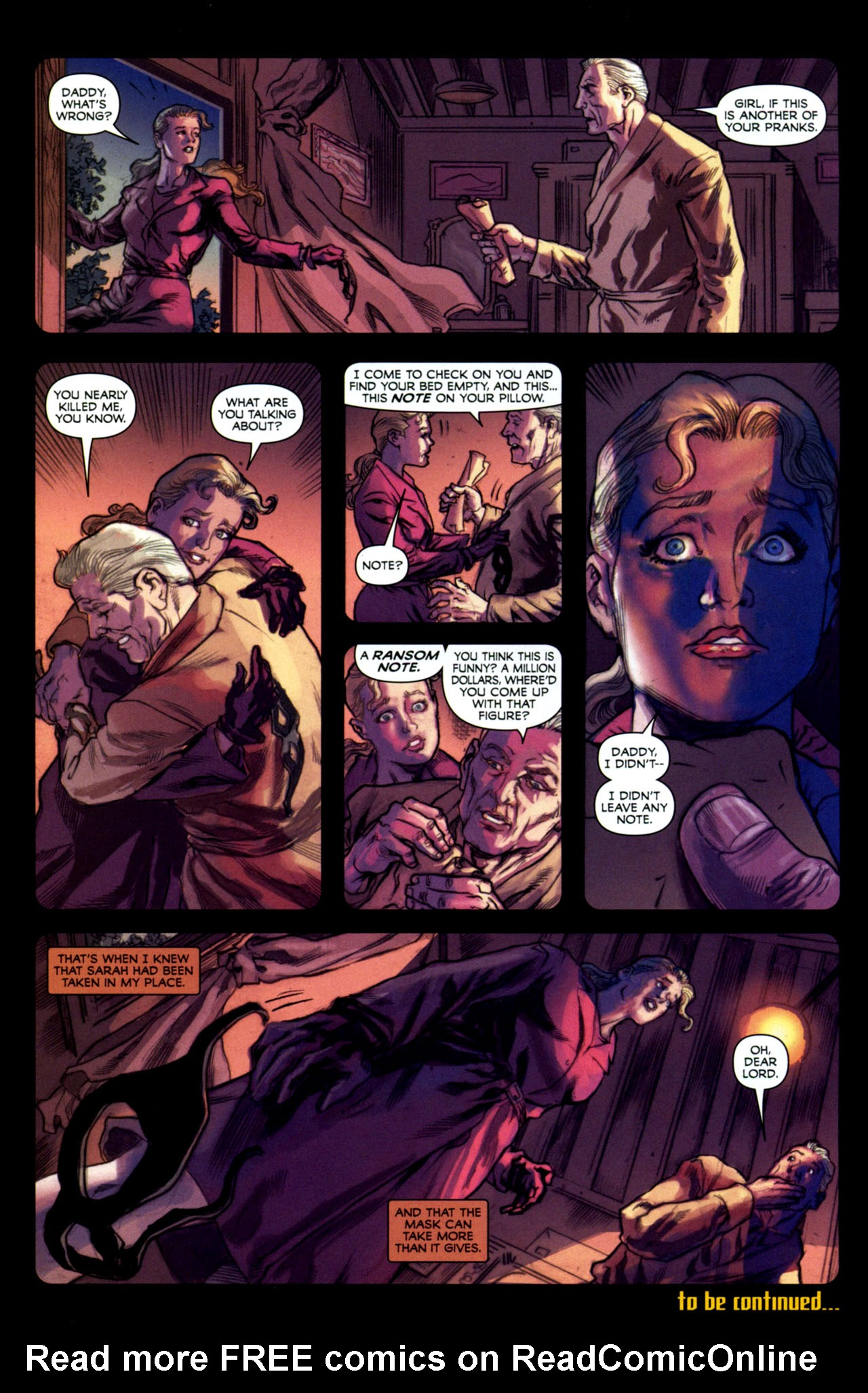 Read online Masquerade comic -  Issue #2 - 31