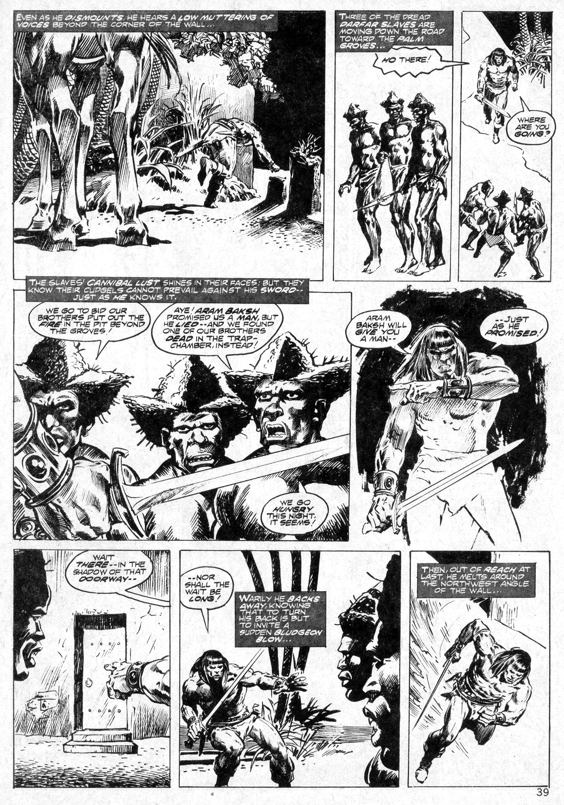 The Savage Sword Of Conan Issue #14 #15 - English 39
