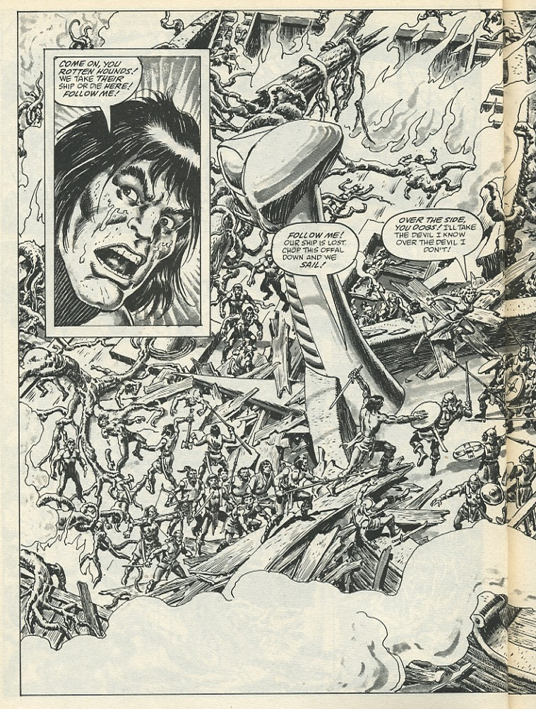 The Savage Sword Of Conan Issue #139 #140 - English 50