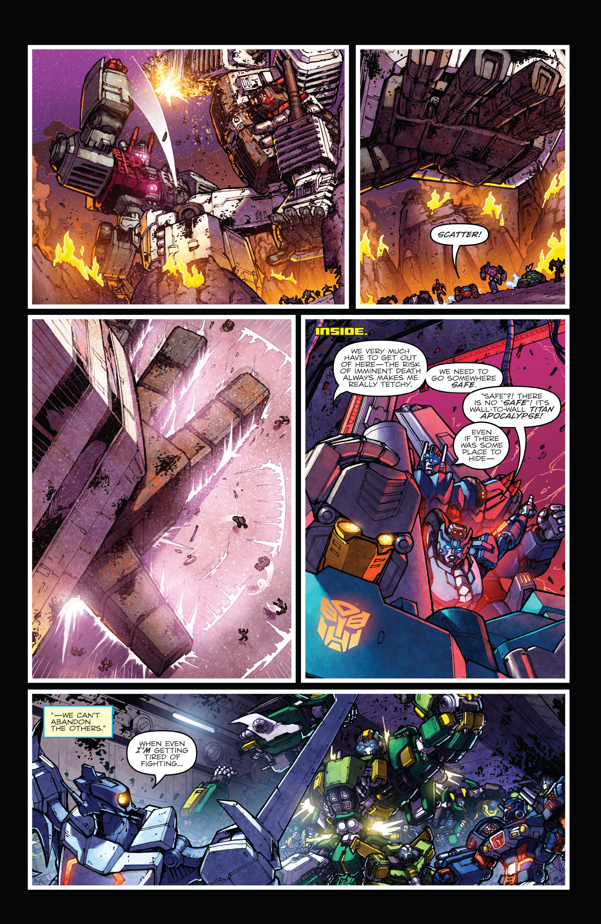 Read online The Transformers: Dark Cybertron Finale comic -  Issue # Full - 63