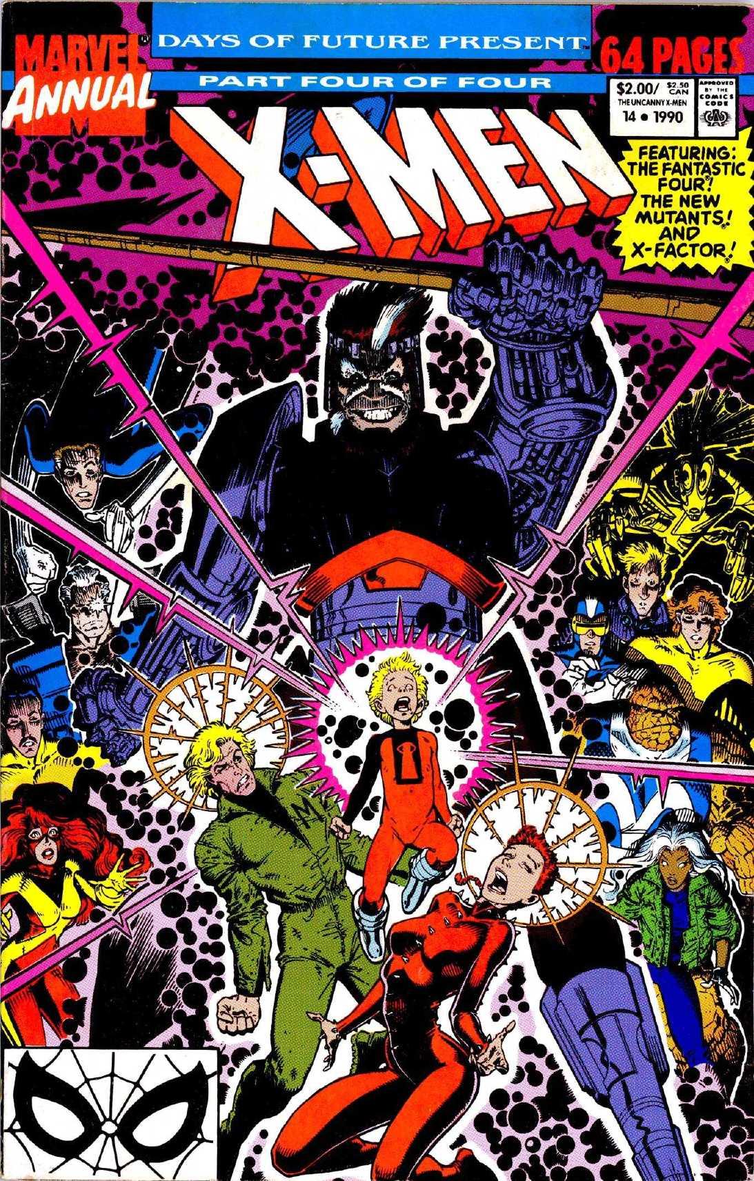 X-Men Annual 14 Page 1