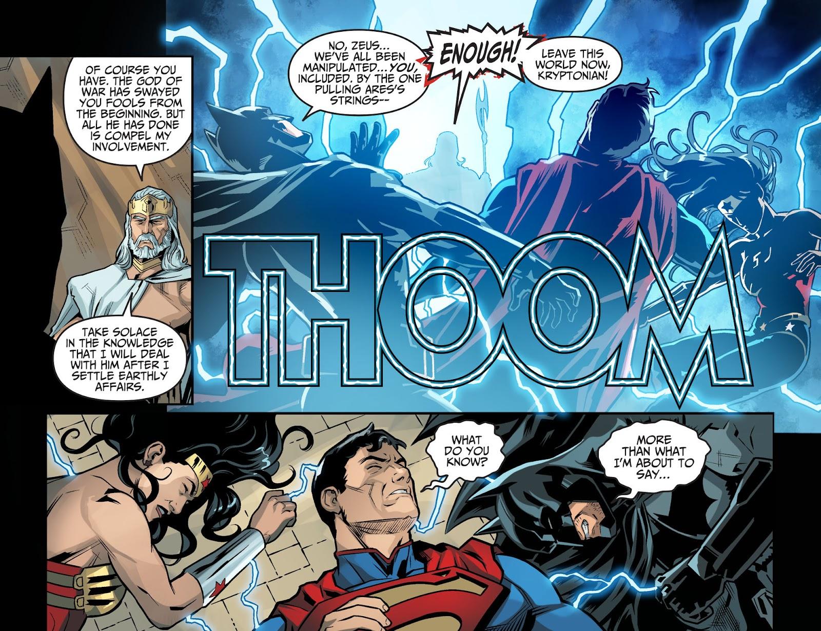 Injustice: Gods Among Us Year Four Issue #20 #21 - English 22