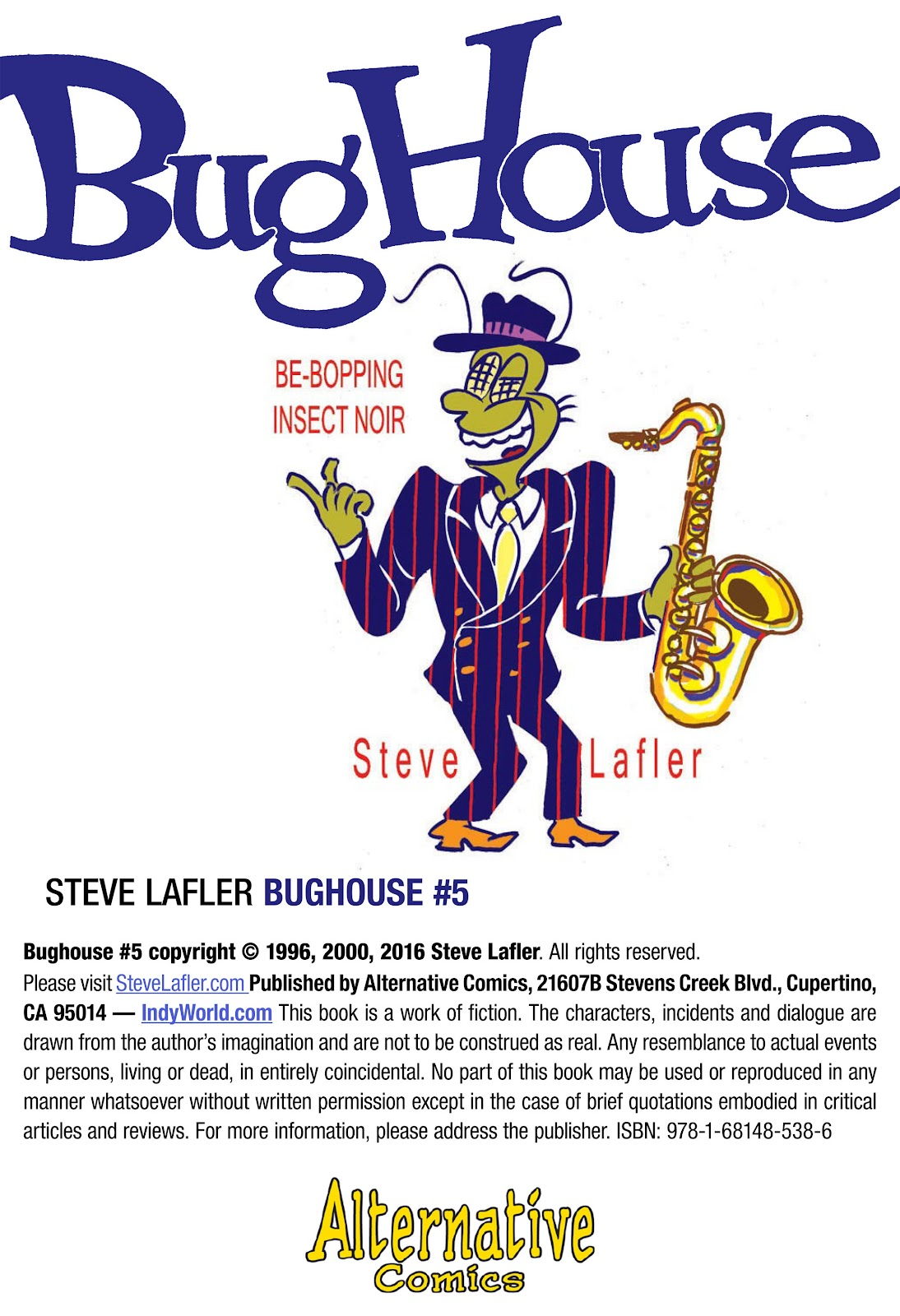 Bughouse Issue #5 #5 - English 2