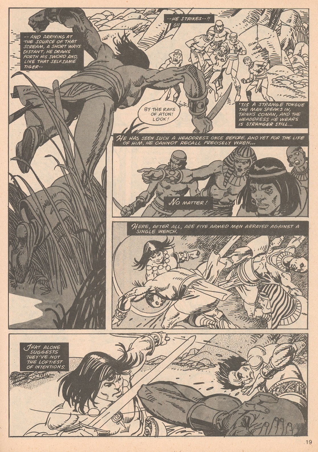The Savage Sword Of Conan Issue #65 #66 - English 19