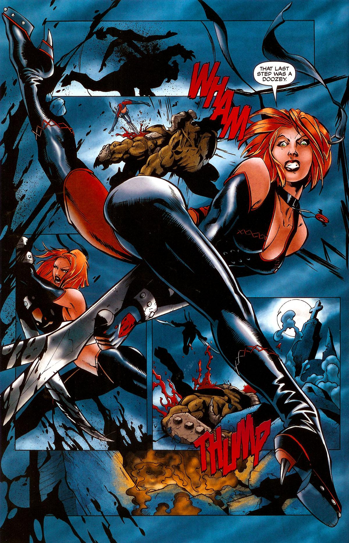 Read online BloodRayne: Dark Soul comic -  Issue # Full - 5