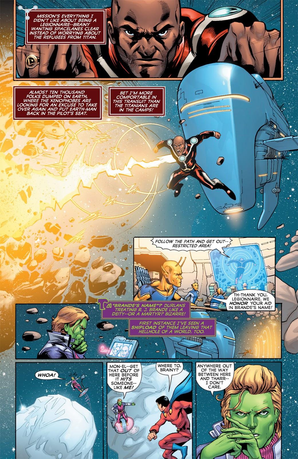 Legion of Super-Heroes (2010) Issue #2 #3 - English 6