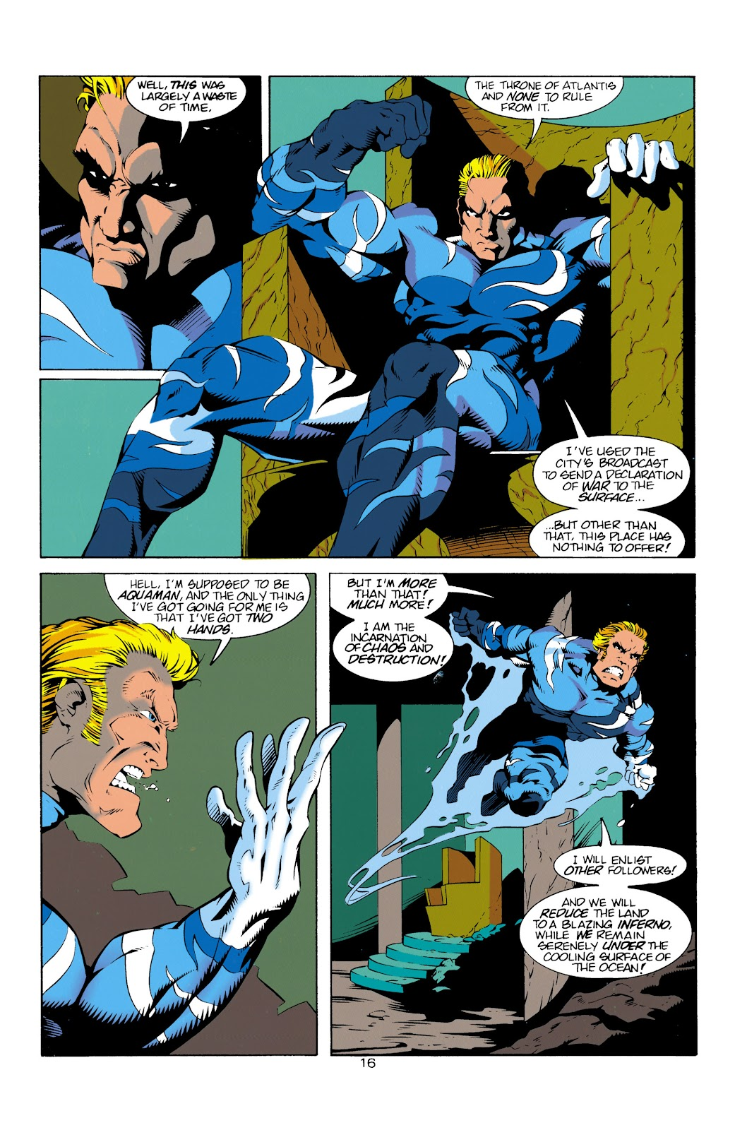 Aquaman (1994) Issue #14 #20 - English 17