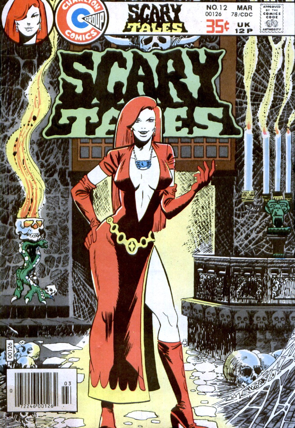 Read online Scary Tales comic -  Issue #12 - 1