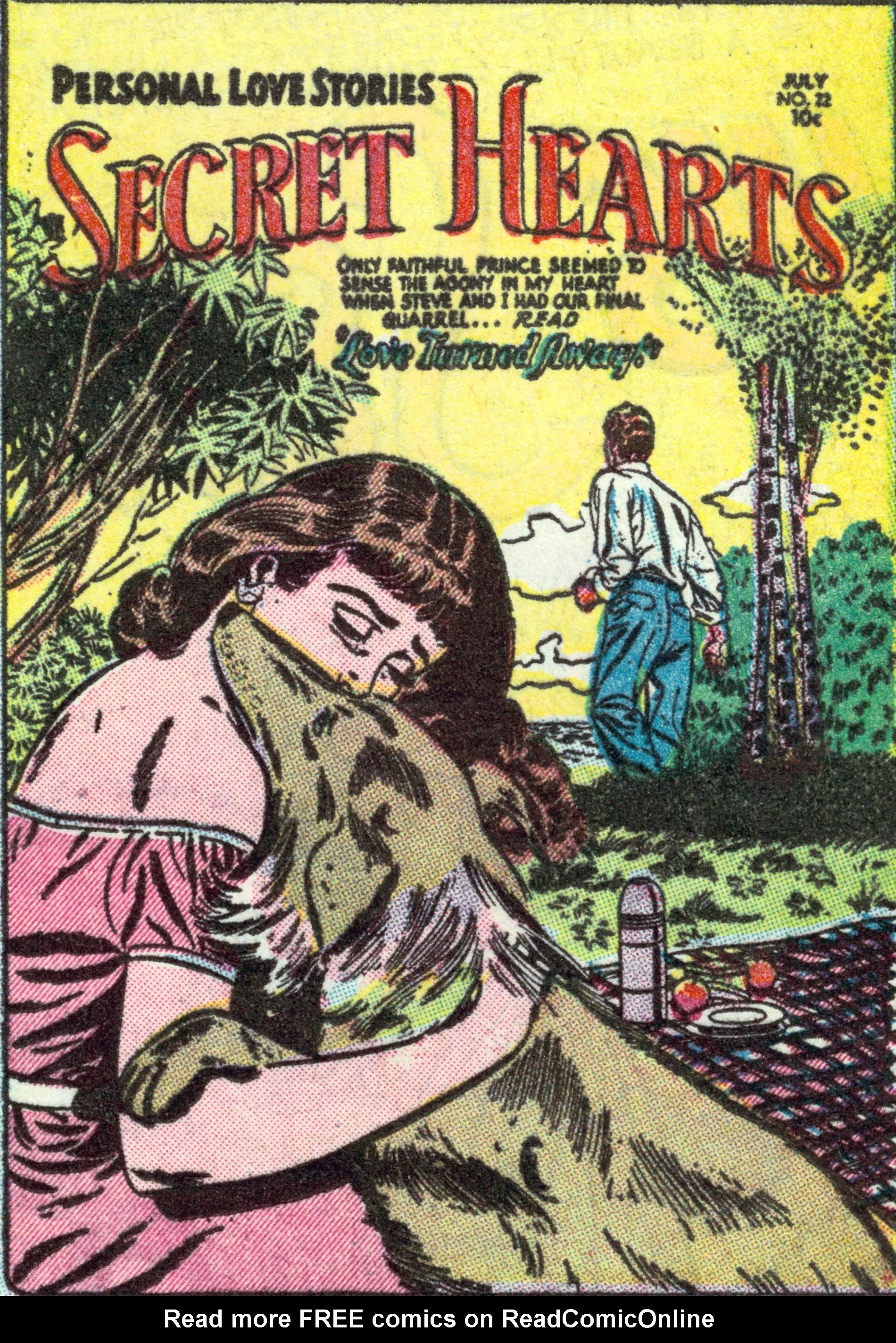 Read online Secret Hearts comic -  Issue #22 - 1