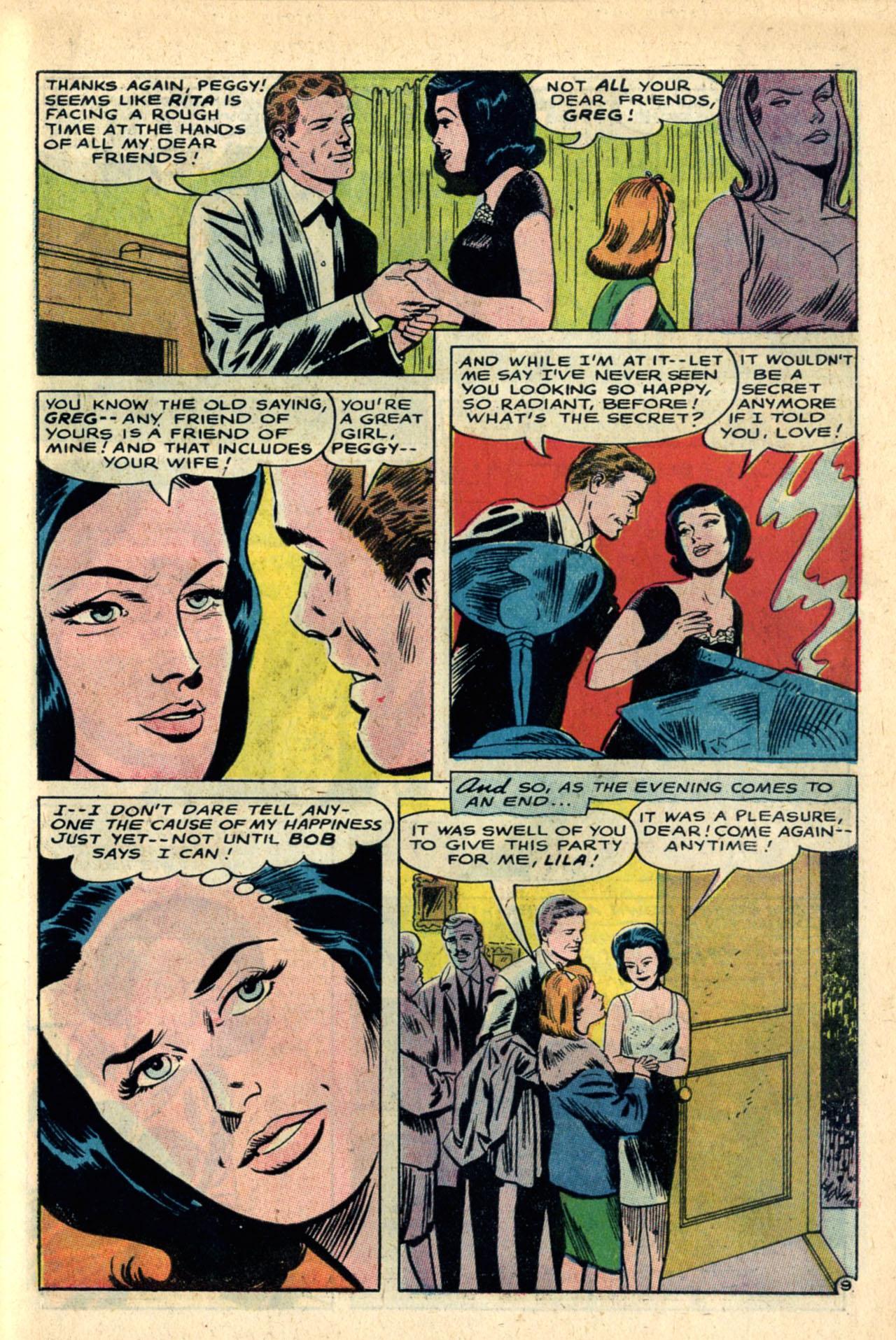 Read online Secret Hearts comic -  Issue #120 - 27