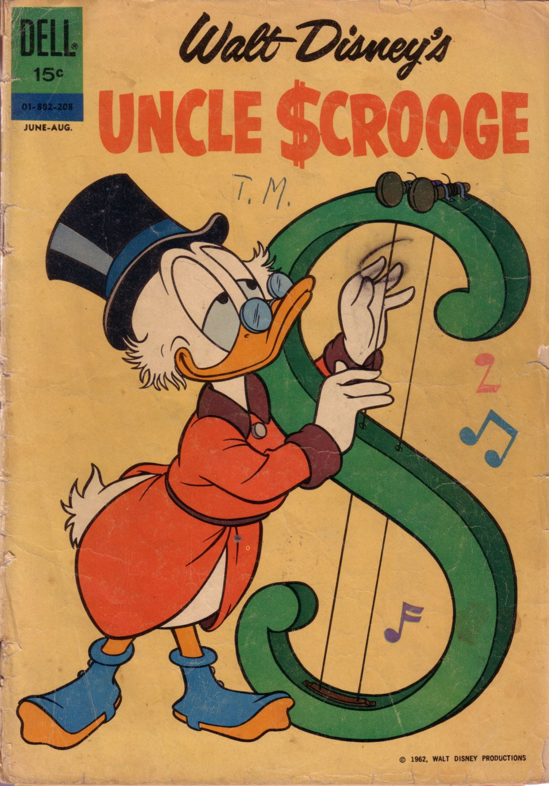 Uncle Scrooge (1953) Issue #38 #38 - English 1