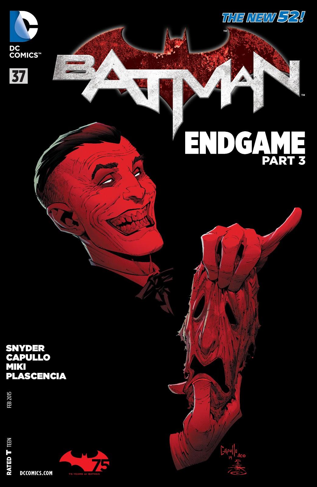 Batman (2011) Issue #37 #56 - English 32