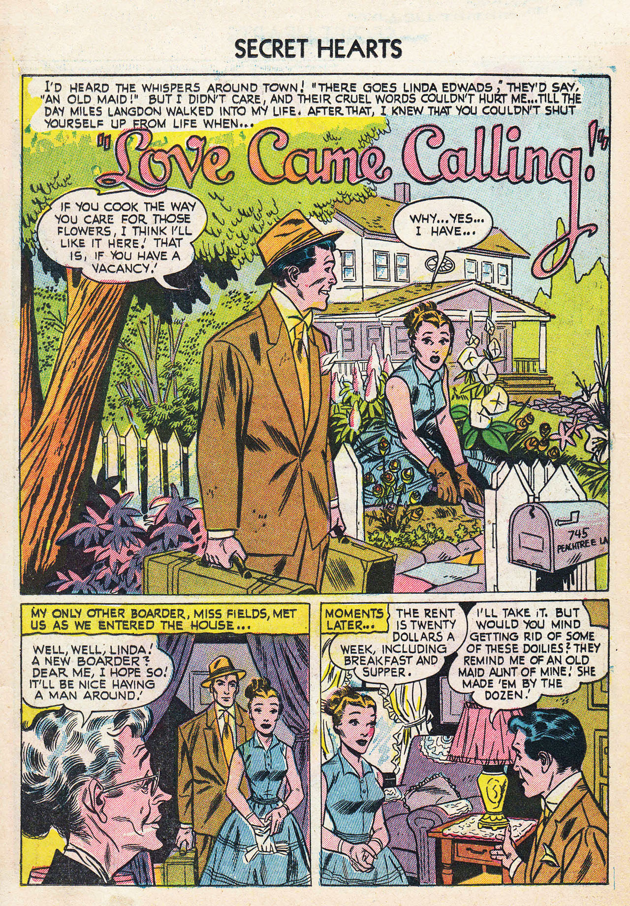 Read online Secret Hearts comic -  Issue #24 - 18