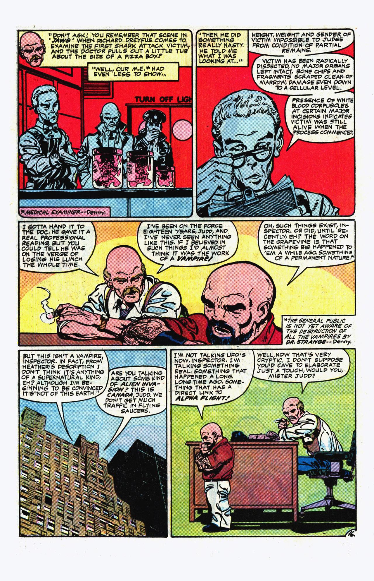 Alpha Flight (1983) 14 Page 16