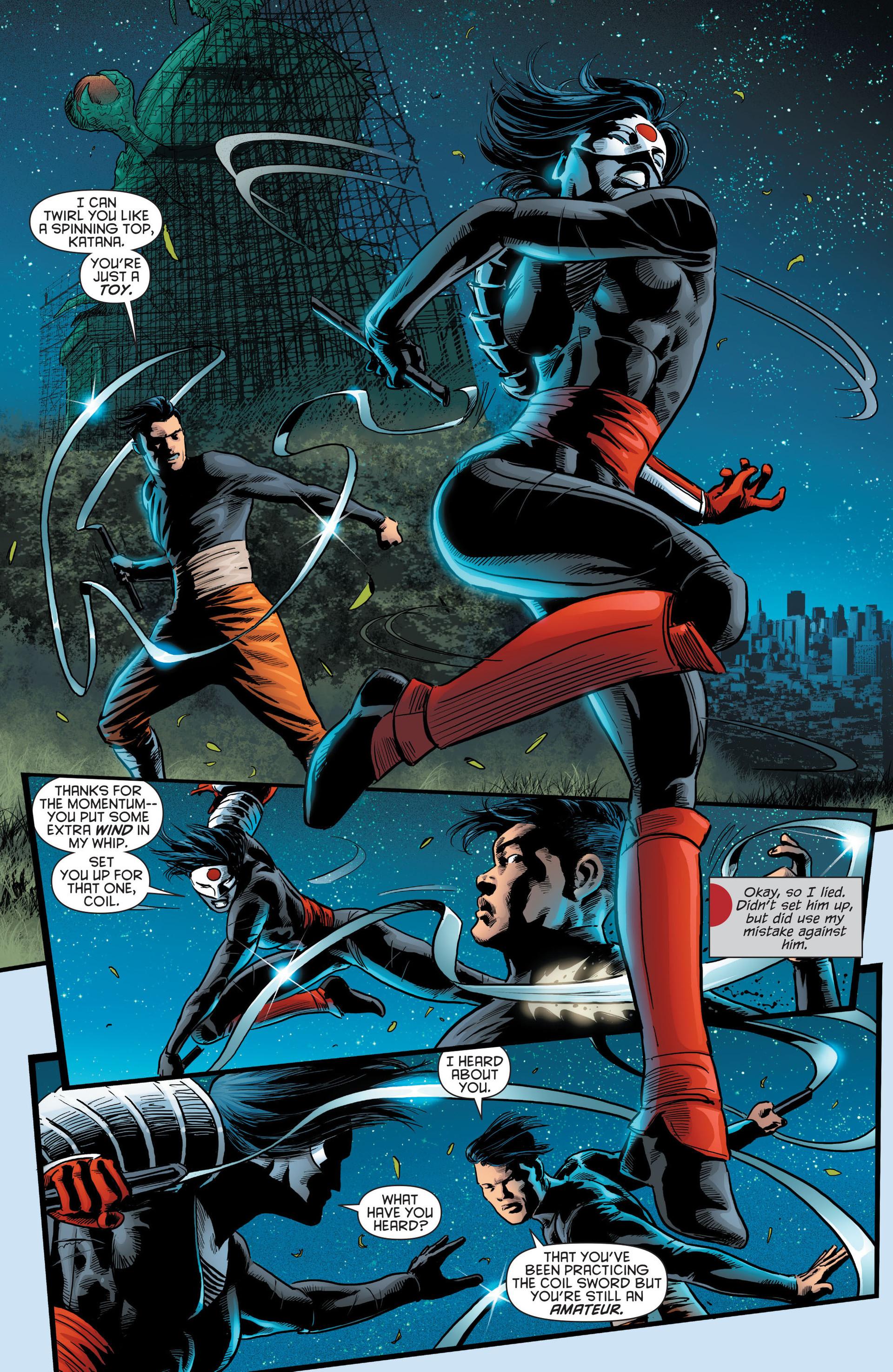 Read online Katana comic -  Issue #8 - 4