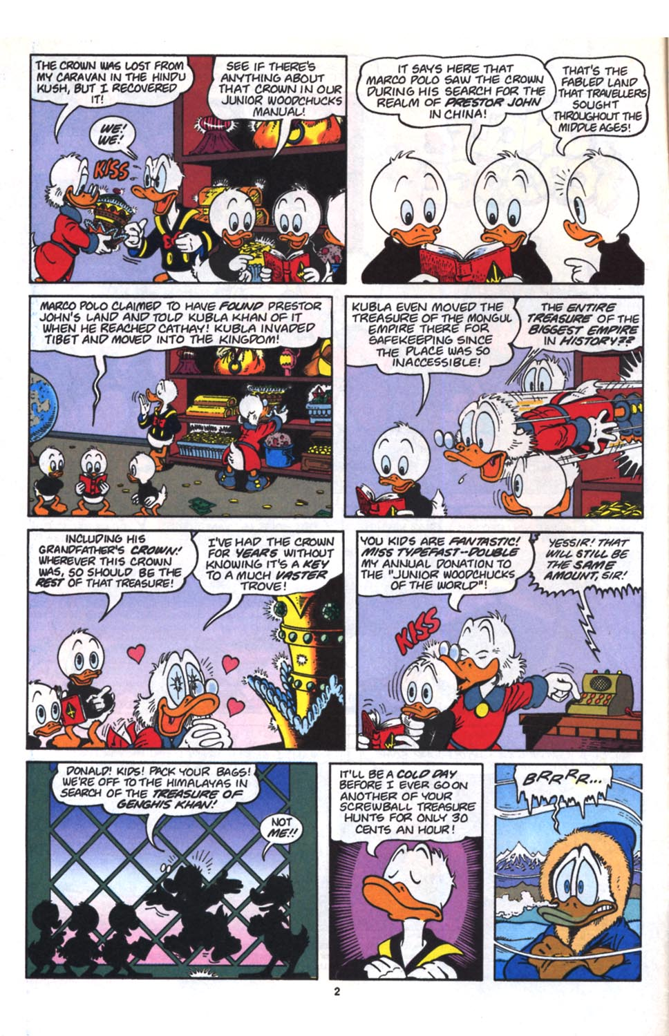 Uncle Scrooge (1953) Issue #261 #261 - English 3