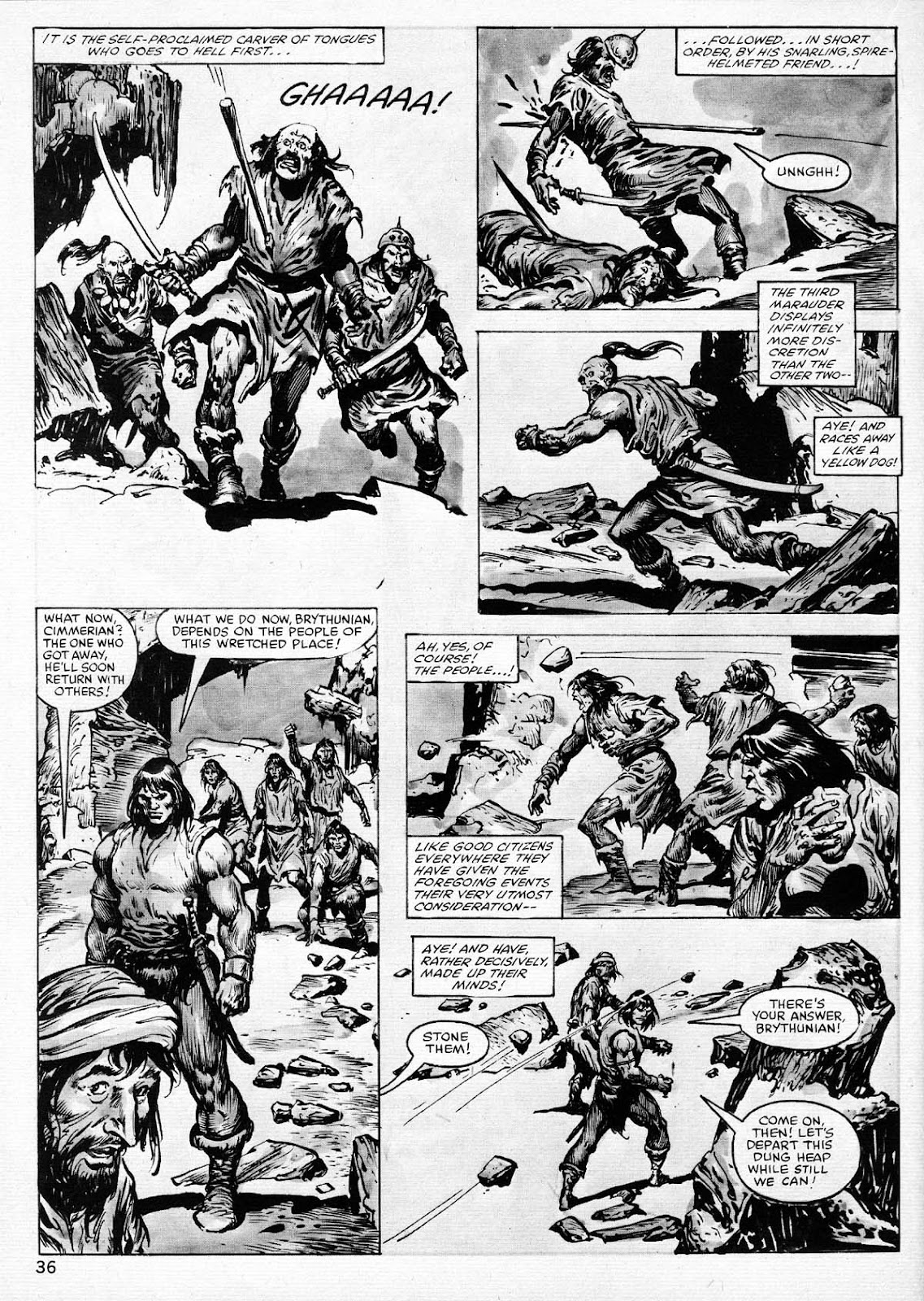 The Savage Sword Of Conan Issue #77 #78 - English 36