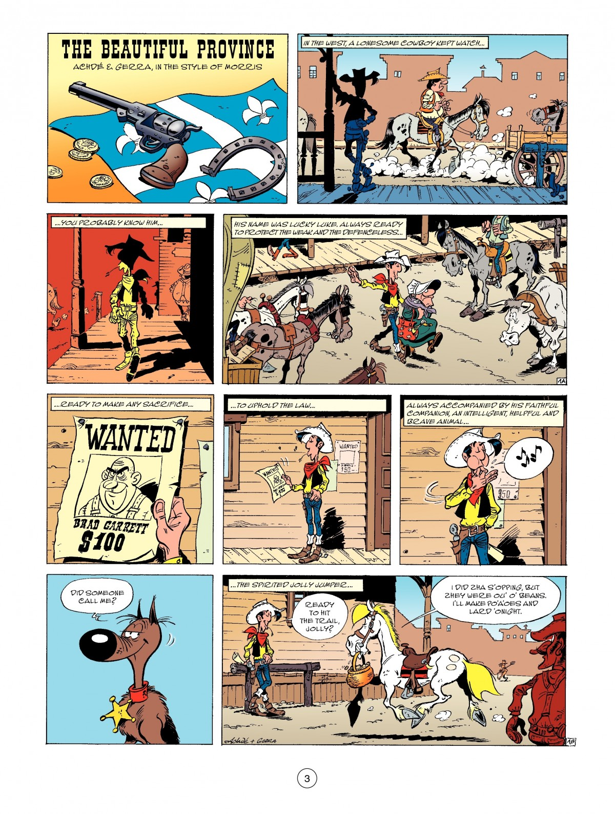 A Lucky Luke Adventure 52 Page 4