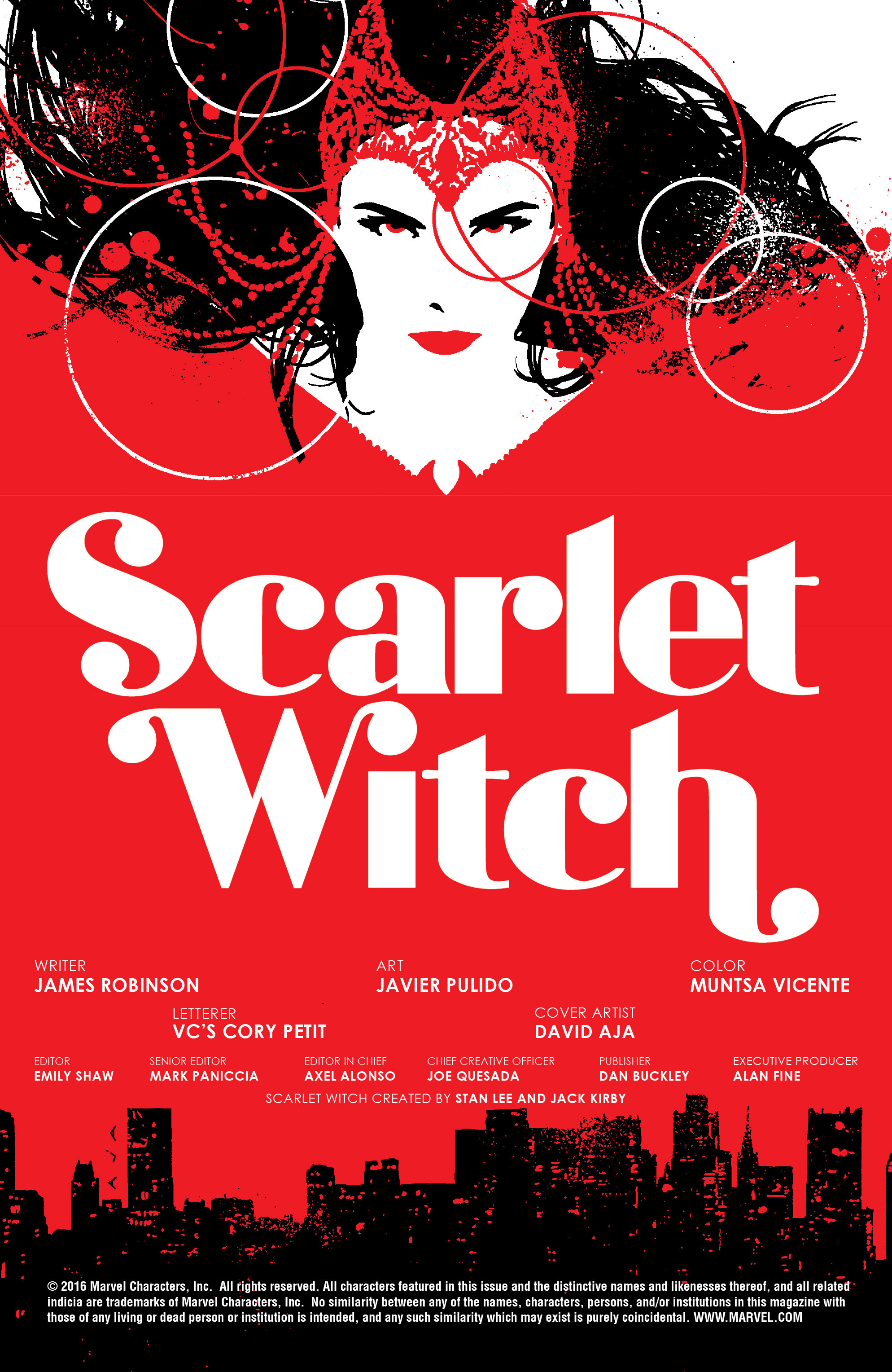 Read online Scarlet Witch (2016) comic -  Issue #5 - 18
