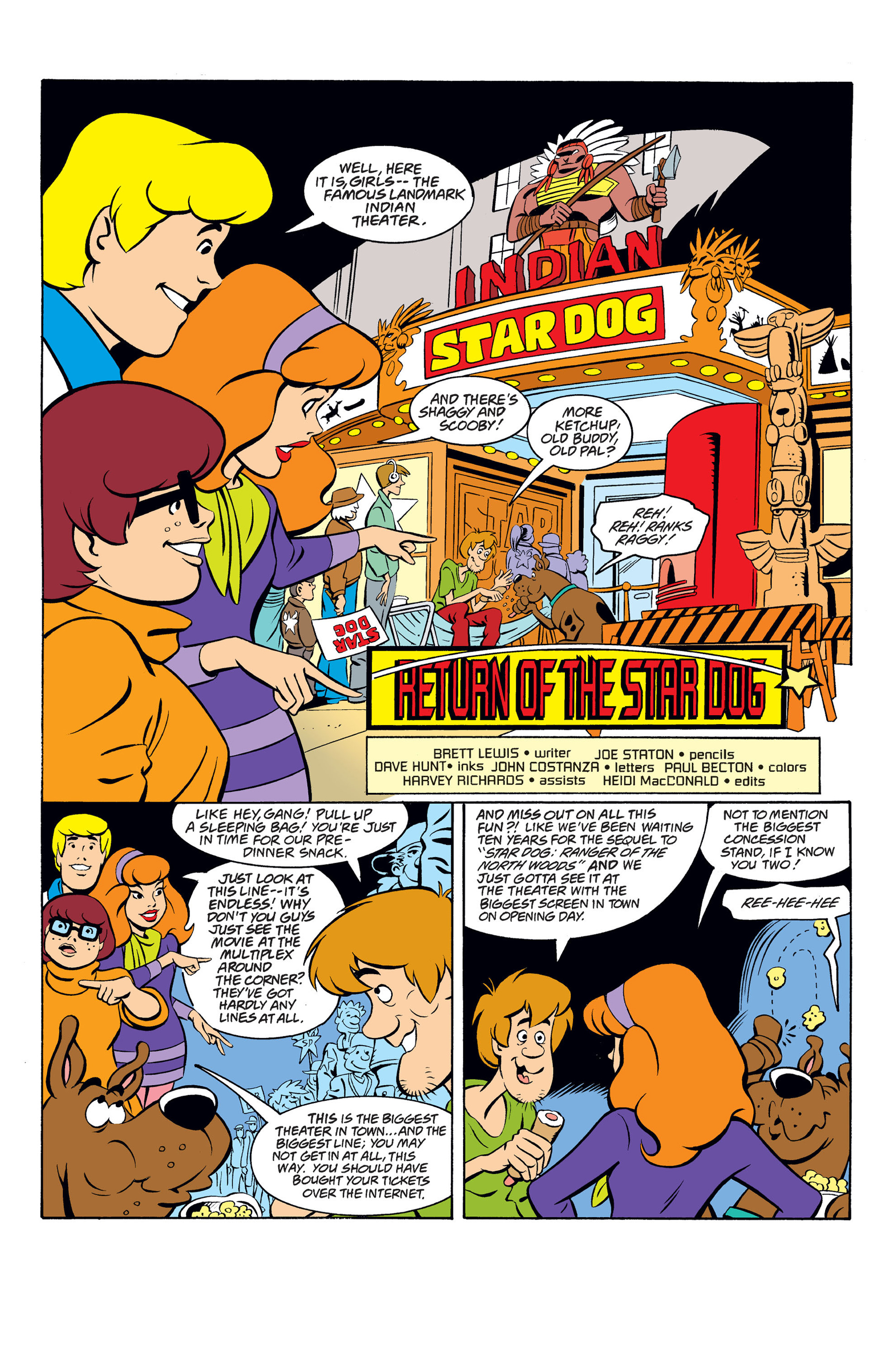 Read online Scooby-Doo (1997) comic -  Issue #33 - 2