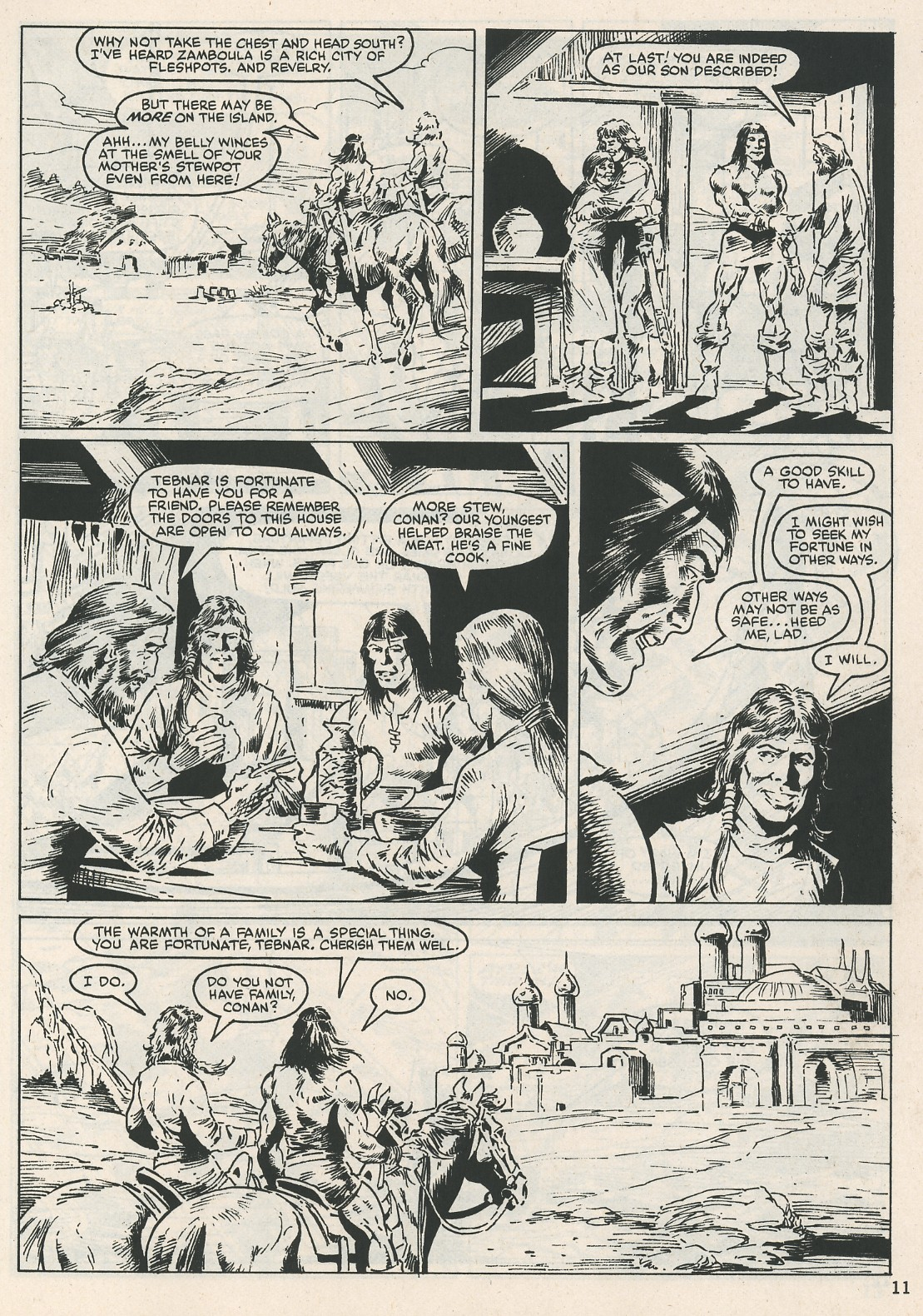 The Savage Sword Of Conan Issue #115 #116 - English 11