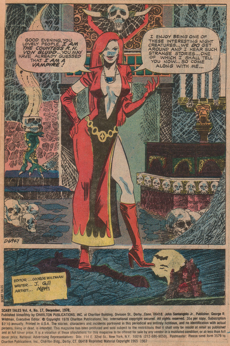 Read online Scary Tales comic -  Issue #17 - 3