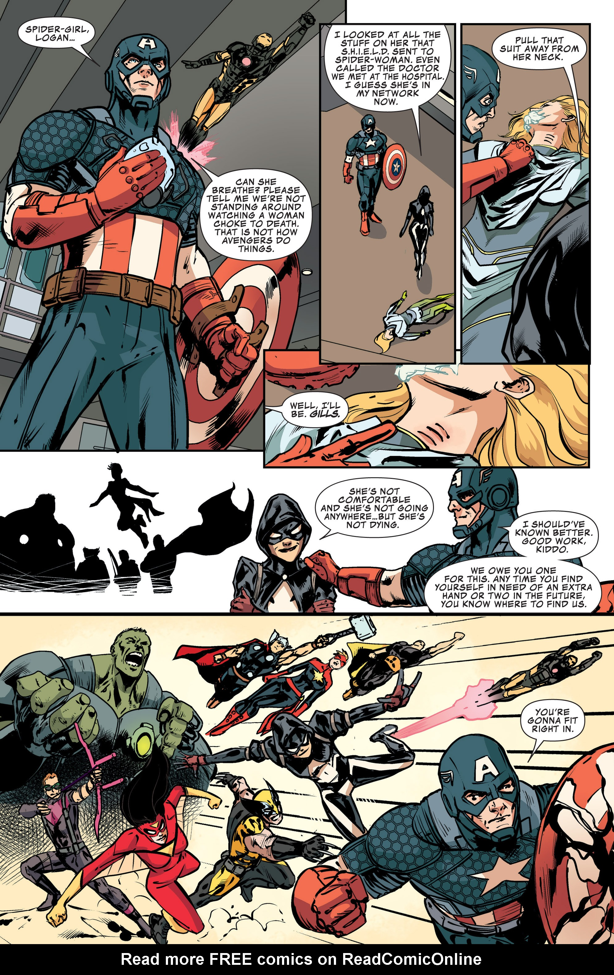 Read online Avengers Assemble (2012) comic -  Issue #25 - 20
