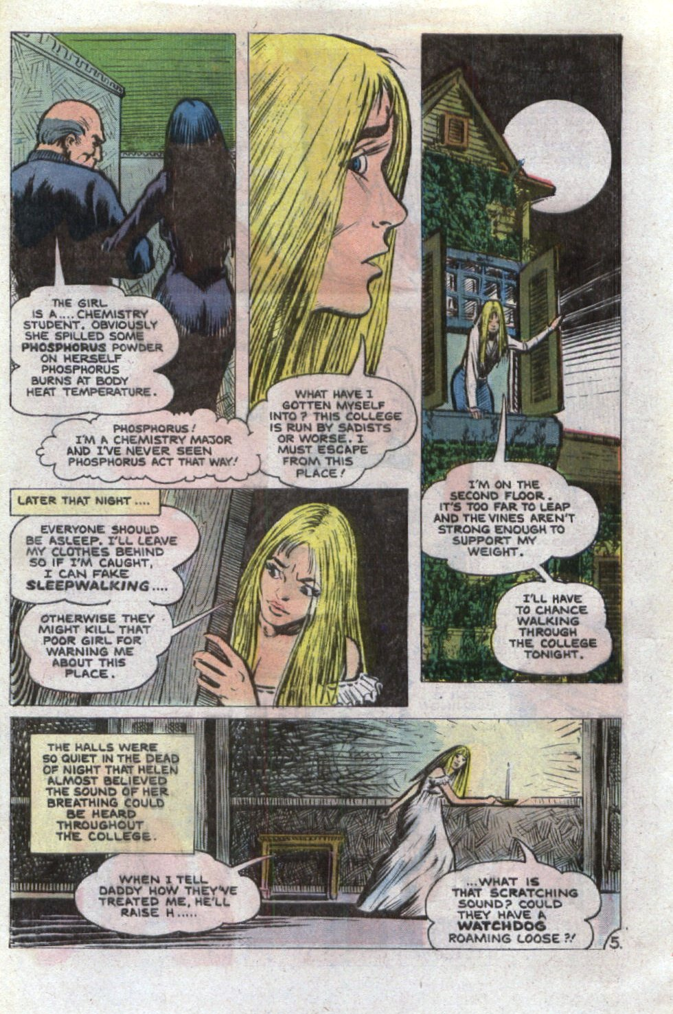 Read online Scary Tales comic -  Issue #26 - 28