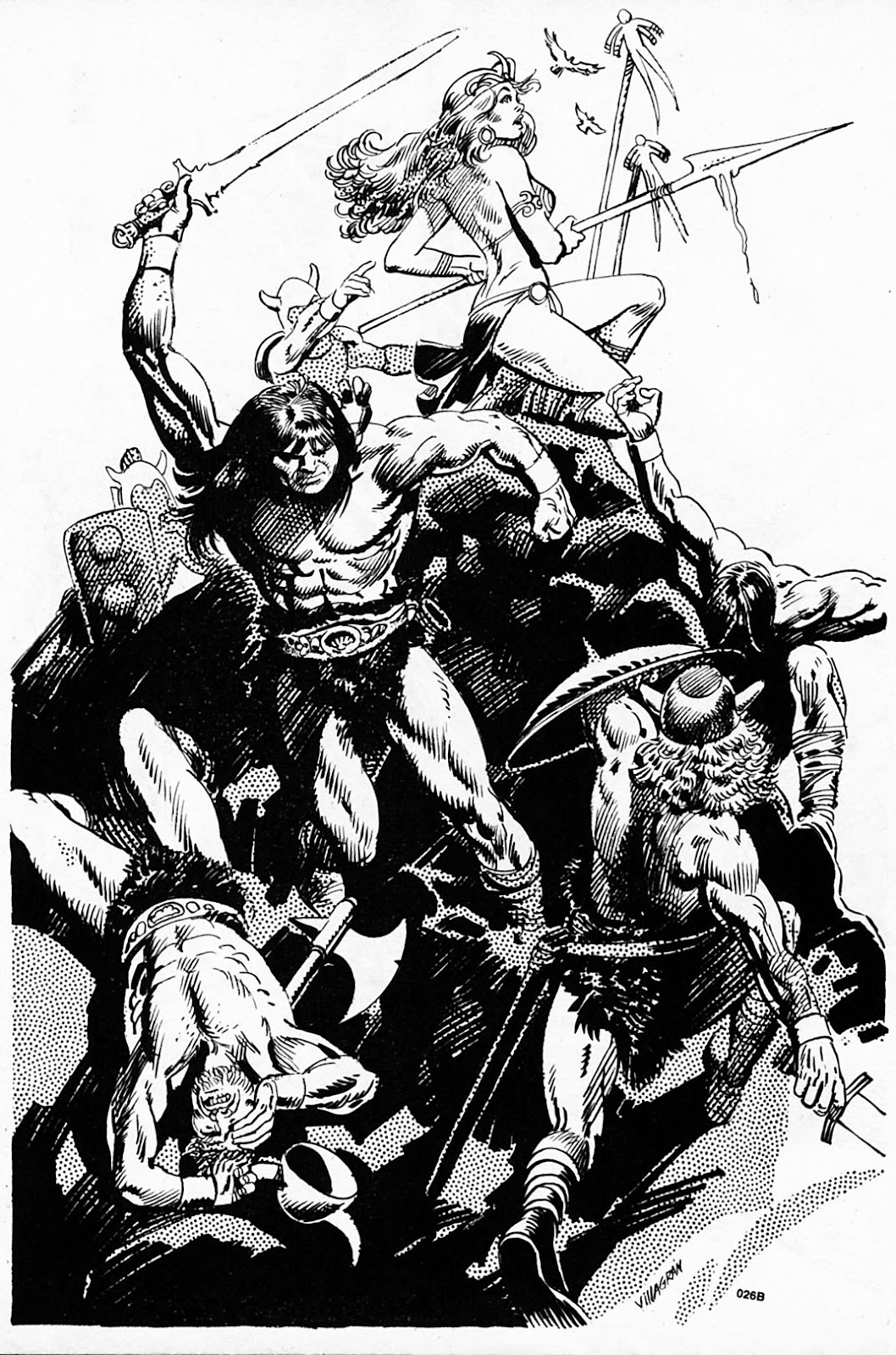 The Savage Sword Of Conan Issue #186 #187 - English 55