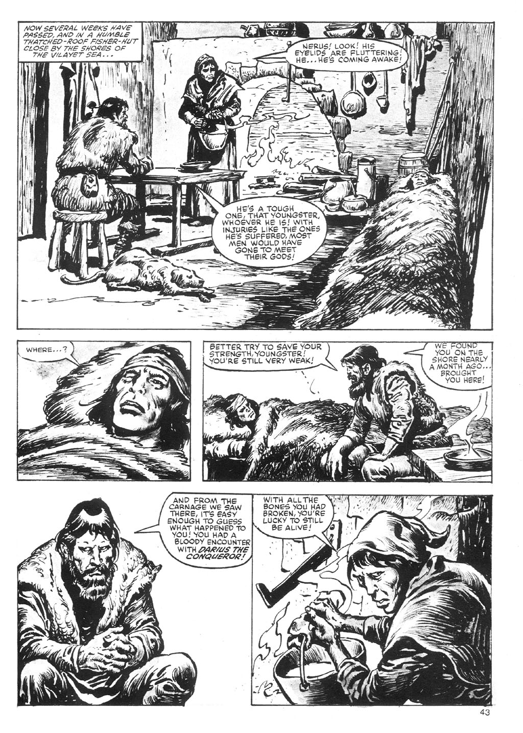 The Savage Sword Of Conan Issue #87 #88 - English 43
