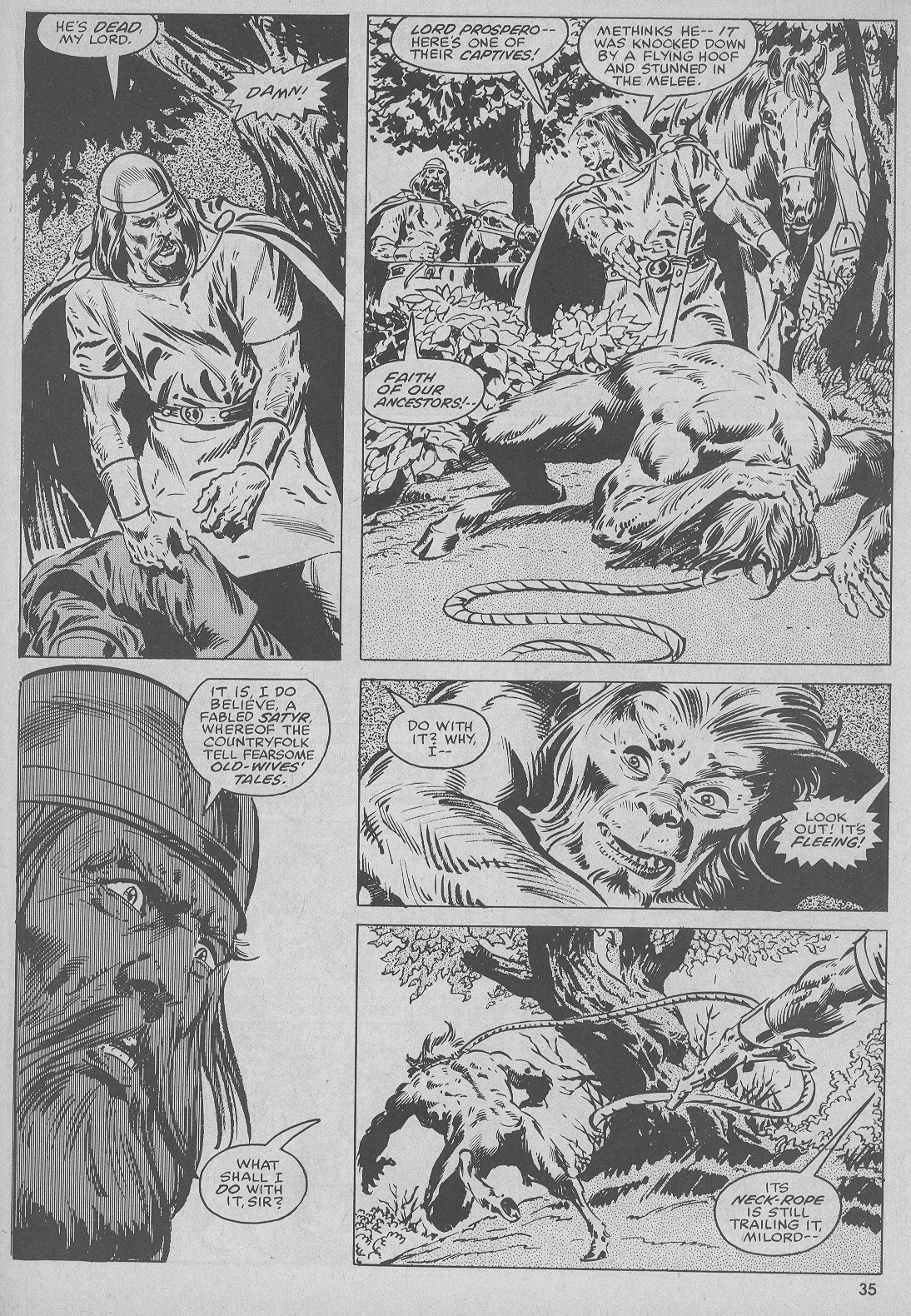 The Savage Sword Of Conan Issue #51 #52 - English 35
