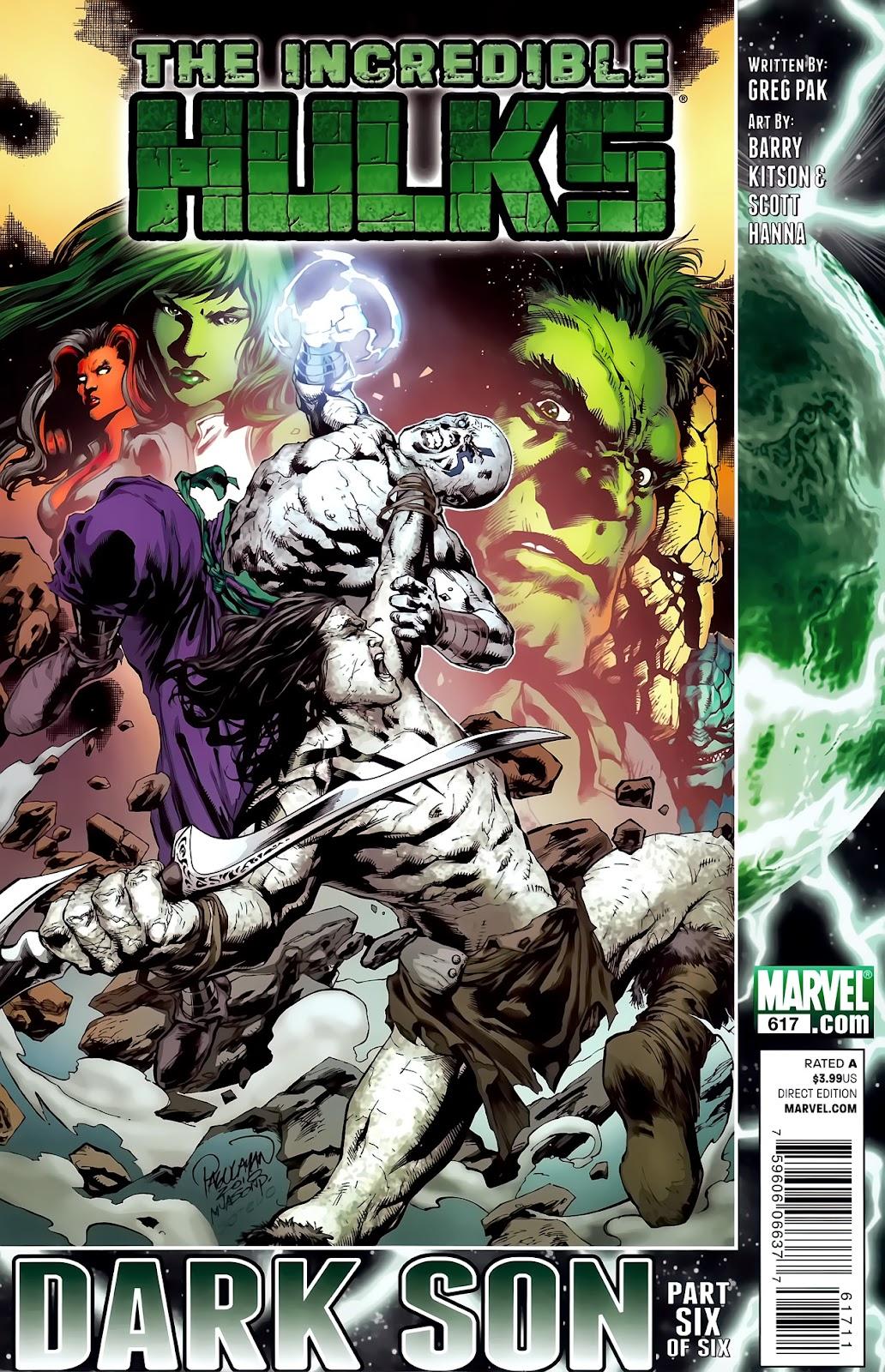 Incredible Hulks (2010) Issue #617 #7 - English 1