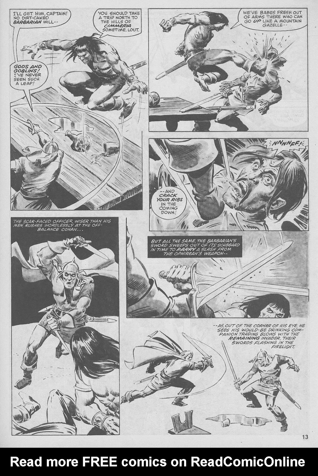 The Savage Sword Of Conan Issue #44 #45 - English 13