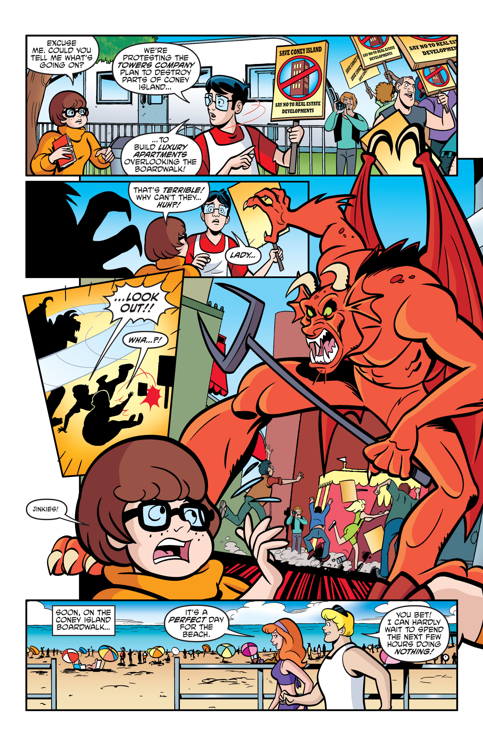 Read online Scooby-Doo: Where Are You? comic -  Issue #54 - 14