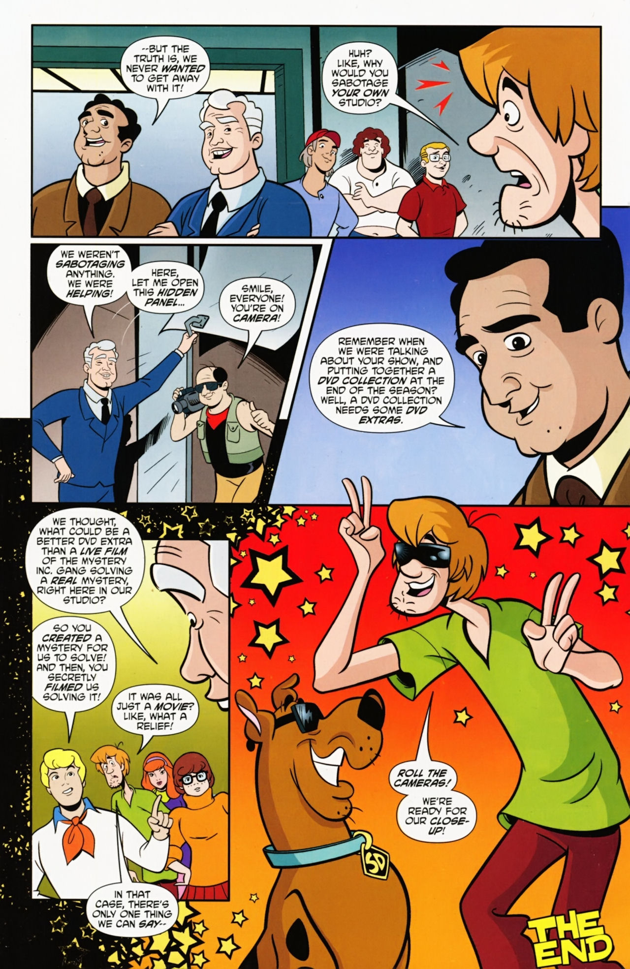 Read online Scooby-Doo: Where Are You? comic -  Issue #9 - 18