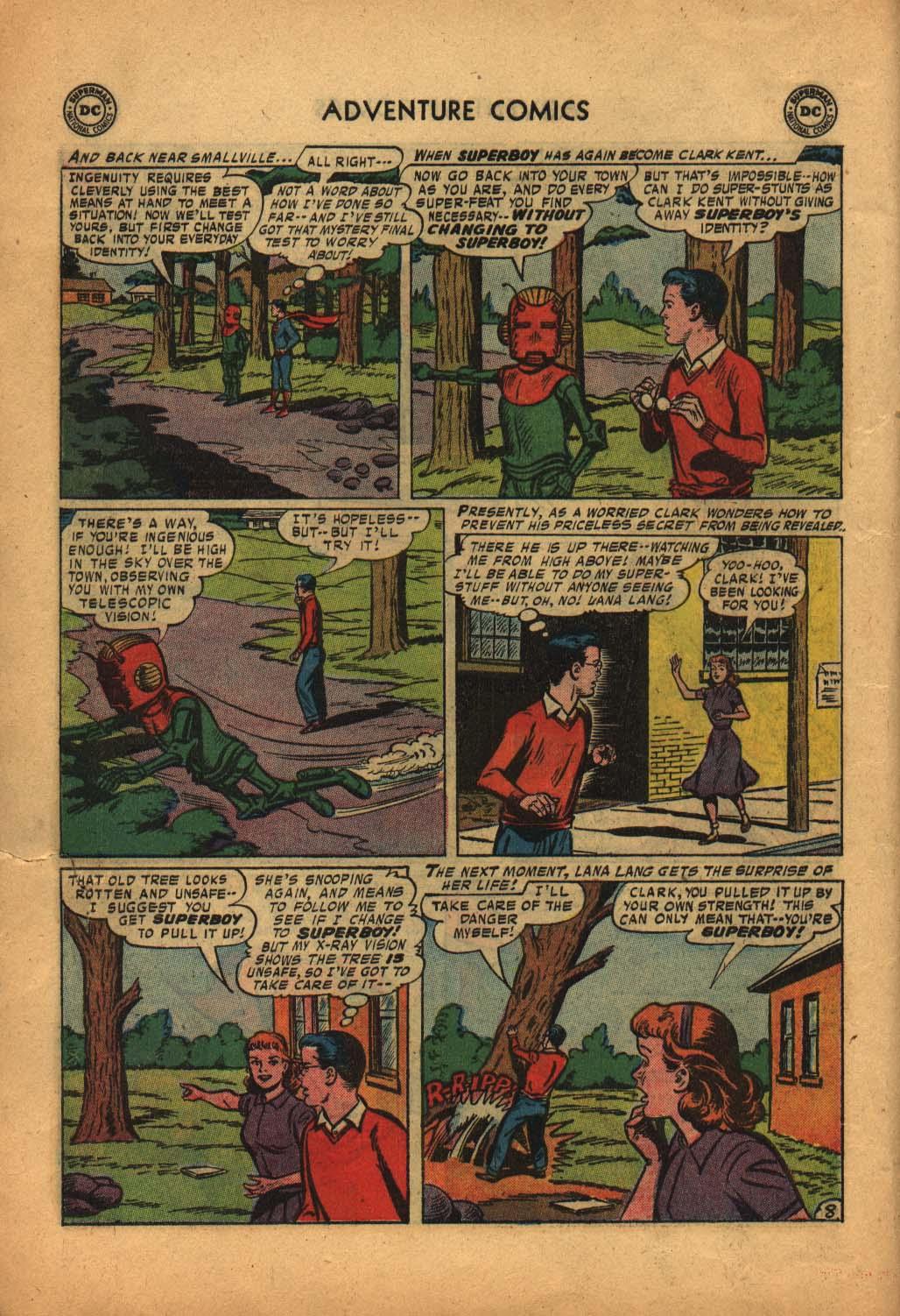 Read online Adventure Comics (1938) comic -  Issue #240 - 10