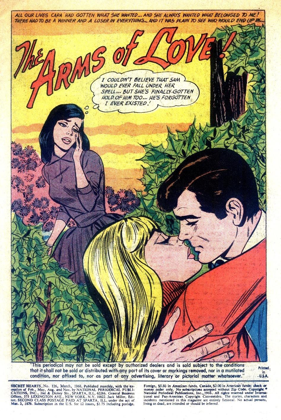 Read online Secret Hearts comic -  Issue #126 - 3