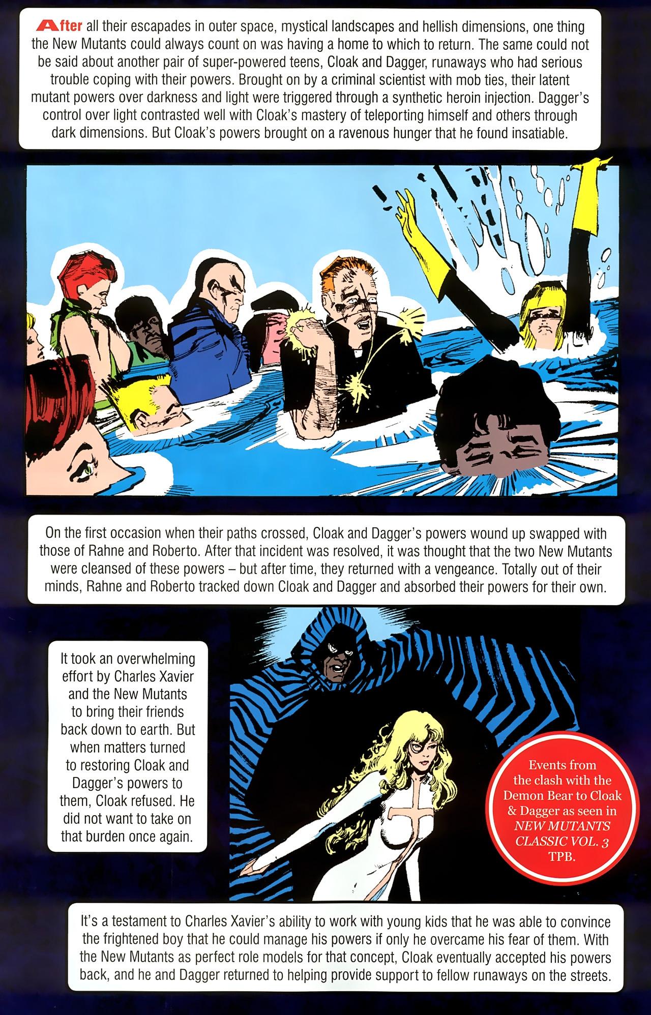 Read online New Mutants Saga comic -  Issue # Full - 18