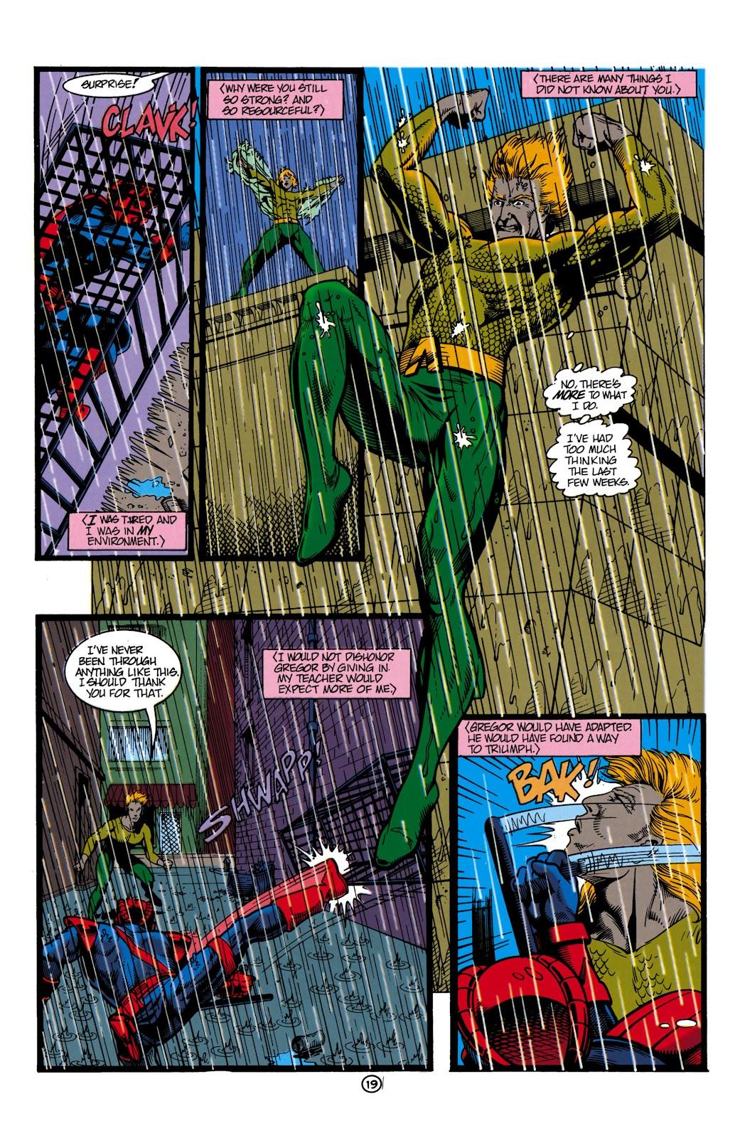 Aquaman (1991) Issue #8 #8 - English 20