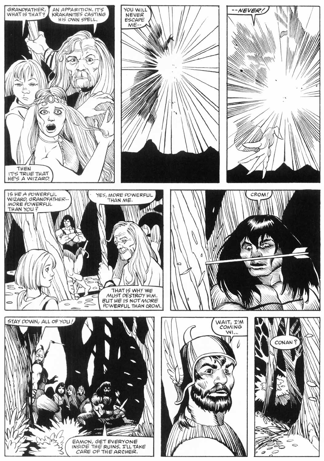 The Savage Sword Of Conan Issue #157 #158 - English 41